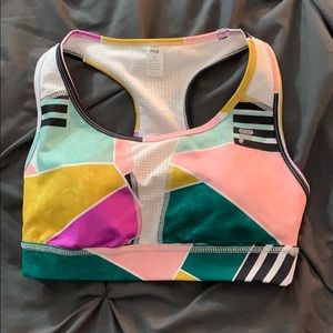 Fila multicolored sports bra
